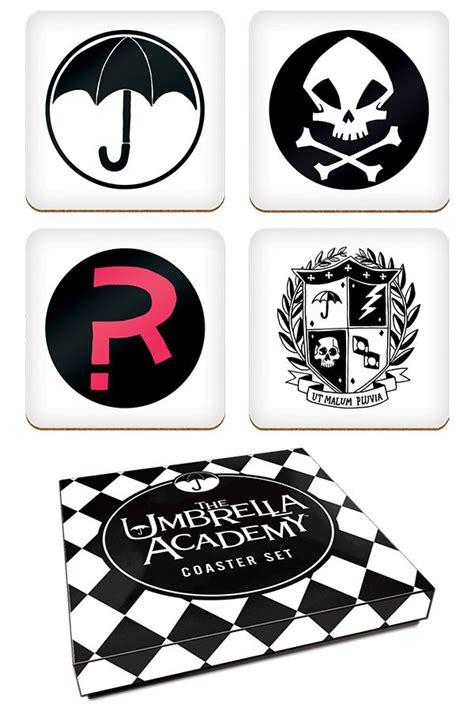 The Umbrella Academy Coaster Set :: Profile :: Dark Horse ...