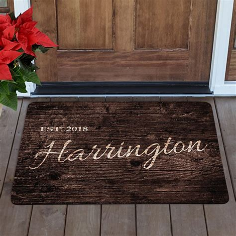 Doormats Personalized by Personalized Doormats Welcome Mats Personal Creations
