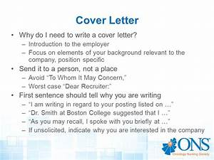 Resume writing workshop creating a winning resume ppt for Do i need to write a cover letter
