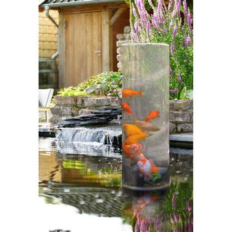 fishtower 50 tour 224 poisson ubbink pour observer les poissons du bassin de jardin
