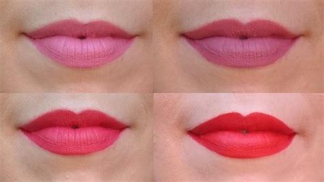 Rouge à lèvres mat maquillage pas cher # youarecosmetics