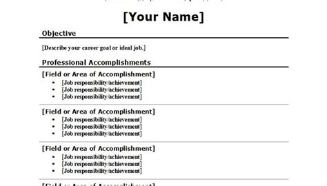 Correct Resume Format by Proper Resume Formats Career Trend