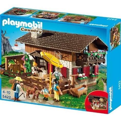PLAYMOBIL 5422 FIGURINE CHALET Achat / Vente