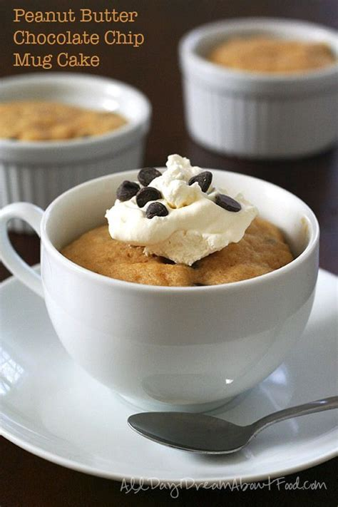 310 calories, 19 g fat (12 g saturated fat, o g trans fat), 220 mg sodium, 32 g carbs (1 g fiber, 22 g sugar), 3 g protein. Heathy and Easy! Peanut Butter Chocolate Chip Mug Cake Recipe - start your new year off right ...