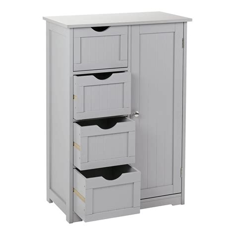 Grey Bathroom Cupboard by Grey Wooden Bathroom Furniture Range Storage Cabinet