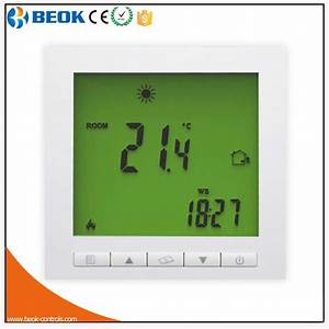 China 16a Lcd Digital Display Underfloor Heating Room