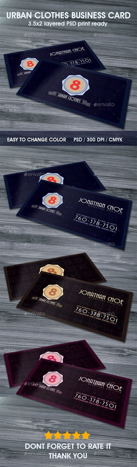urban clothes business card urban outfits  business