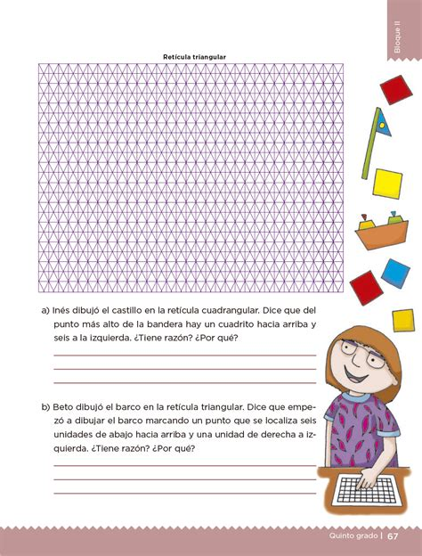 Espaol quinto grado tercer da la historieta es una secuencia ordenada de cuadros con dibujos y texto. Desafios Matematicos Sexto Grado Contestado Pagina 98 ...
