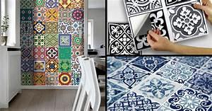 Carrelage Mural Adhésif Cuisine : carrelage adh sif mural cuisine pas cher ~ Dailycaller-alerts.com Idées de Décoration