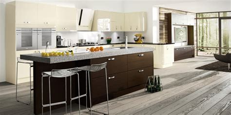 brown kitchen design ideas elite kitchen design manchester contemporary stylish 4938