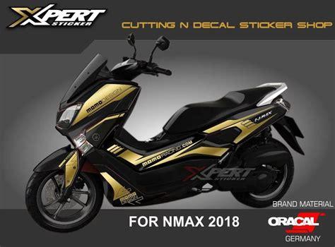 Info Nmax 2018 by Stiker Nmax Gold Cutting Sticker Nmax Hitam 2018 Harga