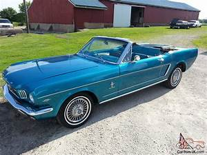 1965 Ford Mustang convertible 289 auto