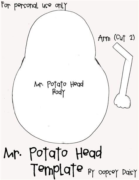 mr potato felt template 1000 images about mr potato on potato heads potatoes and a potato