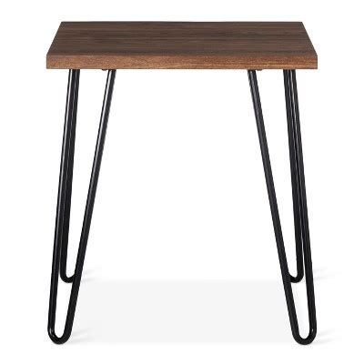 accent tables events inventory hairpin accent table walnut room essentials target