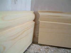 Skirting boards woodworking