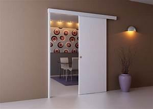 Poser Bloc Porte Entre 2 Murs : battante ou coulissante quelle porte int rieure choisir ~ Dailycaller-alerts.com Idées de Décoration