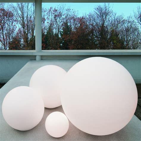 outdoor ball lights diy landscaping pinterest