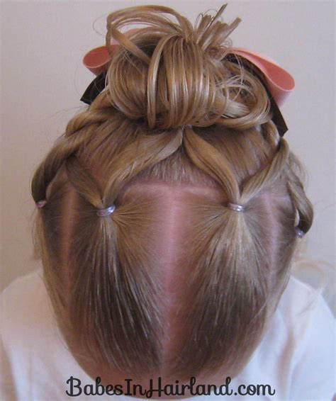 Being able to make the cutest hairstyles for any occasion! 5 Pretty Easter Hairstyles - Babes In Hairland