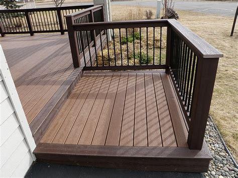 deck design ideas trex cedar hardwood alaskan0164 flickr photo