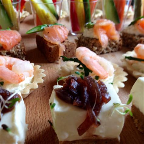 berry canapes canapés finger food catering dublin berry catering