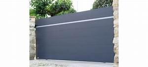 Portail Alu Coulissant 4m : portail coulissant aluminium au design original ~ Dailycaller-alerts.com Idées de Décoration