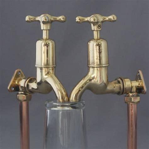 Antique Brass Bathroom Fixtures by Vintage Brass Belfast Sink Taps Architectural Decor