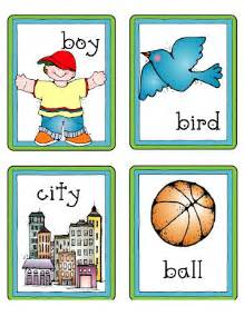 Proper Noun Picture Cards Printable
