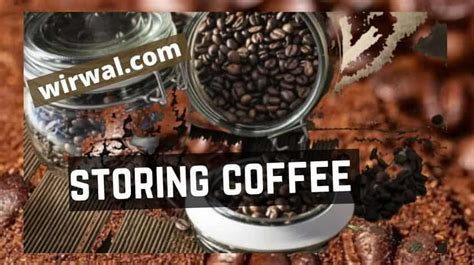 Coffee beans are good for about a month, properly stored. Storing Coffee Beans, Grounds, Pods. Out & In The Fridge 2020
