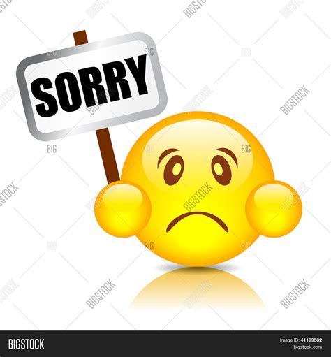 27320 smiley with sorry symbol stock vector 169 natalipopova 124505 sorry smiley vector vektor og fotografi bigstock