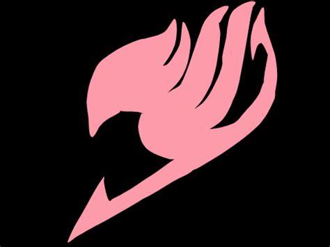 pink fairy tail logo  kawaiicakewizard  deviantart