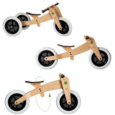 si e bebe velo wishbone le vélo évolutif 3en1 en bois et sans pédale