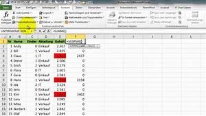 Excel Alter Berechnen Aus Geburtsdatum : excel 242 zellfarben in formeln ber cksichtigen zelle zuordnen youtube ~ Themetempest.com Abrechnung