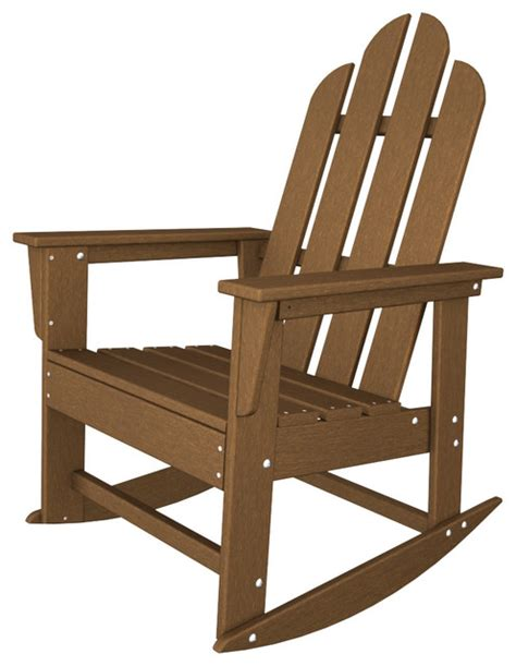 island adirondack rocker all weather outdoor recycled
