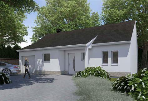 modele maison plain pied 3 chambres plan maison individuelle 3 chambres 09 habitat concept