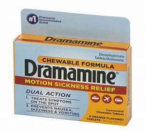 products product=Dramamine Motion Sickness Relief Chewable Tablets 8 ea