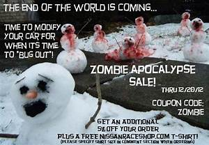 End of the World -- Zombie Apocalypse Sale at ...