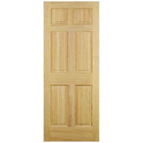home depot jeld wen interior doors jeld wen 6 panel pine interior door slab thdjw101200242