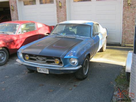 67 Ford Mustang Fastback Project
