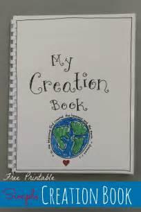 creation book free printable happy home
