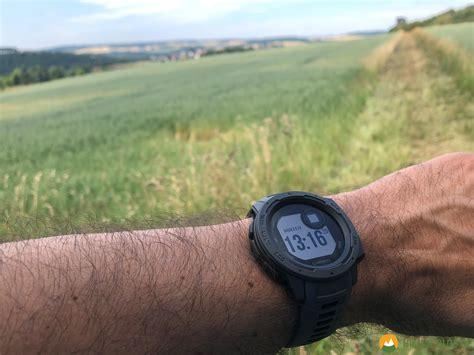 garmin instinct test praxistest garmin instinct outdoor smartwatch hiking