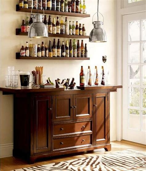 Small Bar Cabinet Ideas by Cool Minibar Idea In Small Space Lifestyle Home Bar