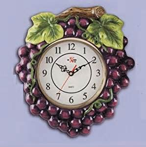 amazon com grapes grapevine kitchen home wall decor