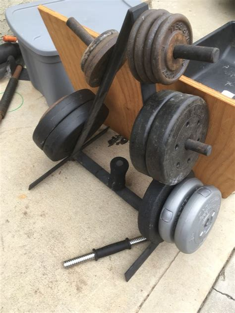 weights  weight tree stand  sale  los angeles ca offerup