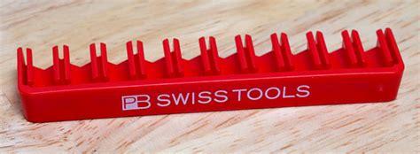 pb swiss tools bitblock  fantastic screwdriver bit holder