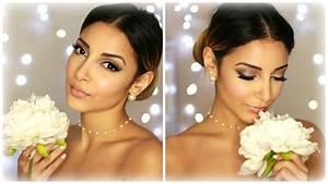 Maquillage De Mariage : bridal wedding make up maquillage de mari e youtube ~ Melissatoandfro.com Idées de Décoration