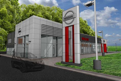Cole Nissan Used Car Dealership Addition