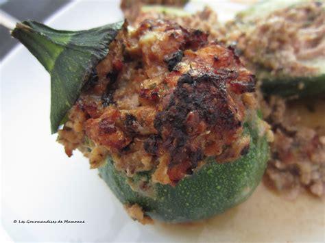 cuisiner courgettes rondes courgettes rondes farcies et cook in les gourmandises