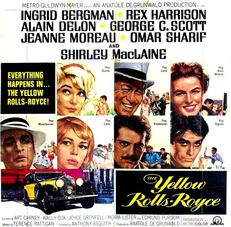 yellow rolls royce movie the yellow rolls royce 1964 the hollywood revue