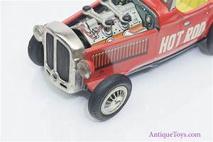 Hot Rod Friction Tin Car Piston Action By Nomura  Sold