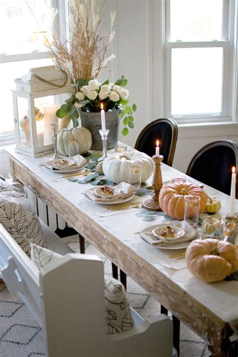 beautiful thanksgiving table decor ideas digsdigs